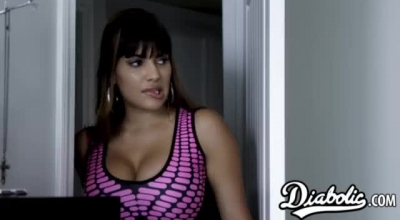 Carrera Is A Beautiful Latina Chick With Blonde Hair With Hairy Pussy, Who Likes To Get Fucked