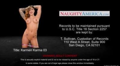 Karmen Karma And Elle Alexandra Are Banged By The Same Huge Dick
