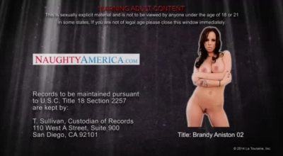 Brandy Aniston Likes To Play With Her Big Tits And Fresh Friend, Because They All Like Him.