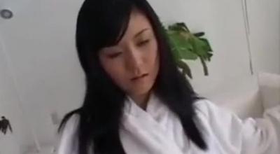 Beautiful Asian Porn Babe Gets Jizz Up Her Boobies.