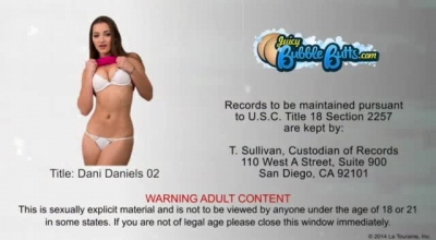 Tattooed Blonde, Dani Daniels Likes To Have Steamy Sex With Various Random Guys And Eat Fresh Cum