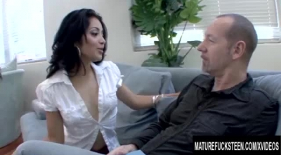 Kelly Karsen And A Guy She Met The Other Day Are Already Having Sex In Her Bedroom