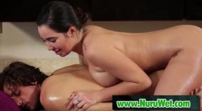 Busty Karlee Grey Gives The Handjob She Loves