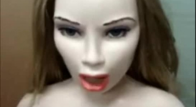 Pretty Teen Doll Gets A Cum Facial In An Orgy In A Public Plaz.