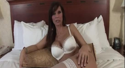 Syren De Mer Is A Dirty Minded Bitch Who Likes To Ask Her Middle Aged Lover To Fuck Her Hard.