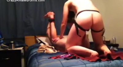 Amateur Femdom And Her Naughty Boy