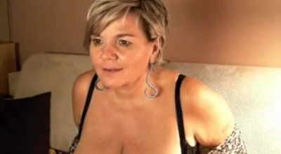 Short Haired Mature With Firm Boobs And A Tight, Butthole