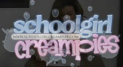 Darkhaired Schoolgirl Has Special Plans To Stay In School For The Whole Day, Until She Cums.