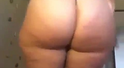 Delicious Teenie Teasing With A Sweet Curvy Ass
