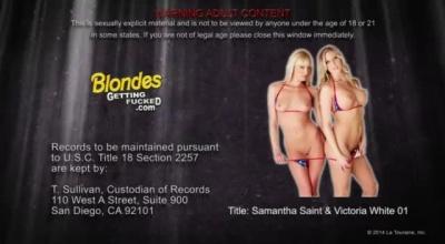 Stepmom Samantha Saint And Hot Blond Schoolgirl Jasmine Jae Great Lesbian HD.