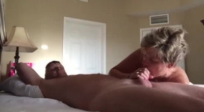 Doggystyle Friend' Blowjob, Spicy Pussy Sliding For Helping My App Explosion