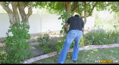 Huge Black Dick Destroys Wild Cunt Of The Bitch Fucking Hard