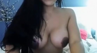 Hot Latina Sexy With Fun Dress Chatting In Chatroom