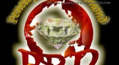 Hot Diamond Dildo Play After School