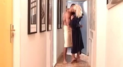 Busty Big Tit Lesbian Milfs Angel Law And Gina Gerson In Bathroom Got To Fuck A Tasty Ass Bent Over And Wanted It Loud And Hard