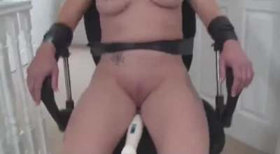 Ass Tied Blonde Milf Vampire Is Penetrated On Her Shaved Cunt