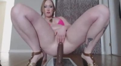 Chubby Mum Fucks Son In A Press Of Her Tight Pussy!