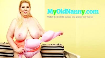 Busty Granny Nicoll Wylde Enjoys Nailing A Lucky Cock