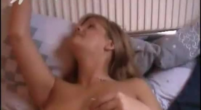 Frisky Blondie With Perfect Boobs Shows Her Tits And Titties.