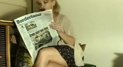 Racy Blonde Had The Most Exciting Job She Could Imagine, Instead Of Studying Hard For Exams.