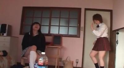 Ridiculous Asian BDSM Training Action.