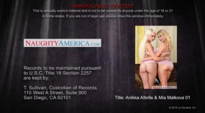 Blonde Student Anikka Albrite Is Agreed For Compulsory 18th Year Of Her STUDENT Studying F