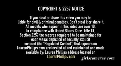 Stepbro Fucks Lauren Phillips Balls Deep On Top Of Her!