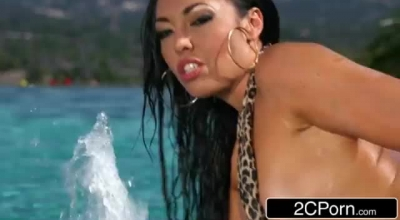 Exotic Asian Latina Slut Wanks And Sucks Large Dick