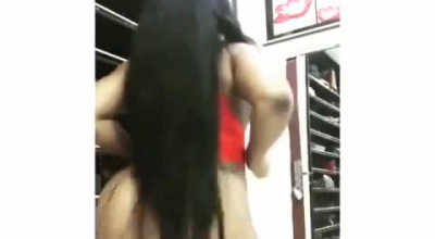 Black48 Big Booty Twerk At Home, On Webcam
