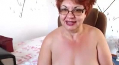 Blonde Granny Likes To Play A Game With A Younger Guy Who Is Eager To Fuck Her
