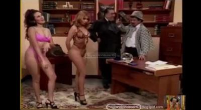 Monica Ecstasy Hayden Teasing And Dancing In 3way.