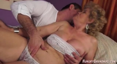 GILF Emo Gets Both Holes Penetrated Outdoor.