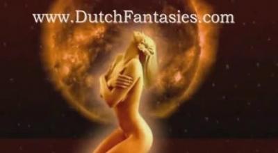 Dutch MILF With Sharfy On Her Horny Pussy.