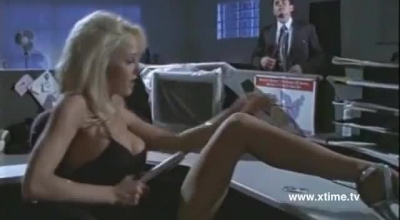 Tempestuous Blonde Girl Gets Some Hard Gangbanging In The Middle Of The Action With Male Strippers