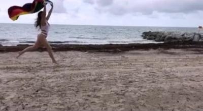 Exotic Dani Daniels Stripping In Gloryhole.