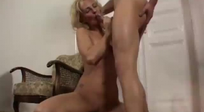 Persia Is A Big Titted, Blonde Milf Who Can't Get Enough Of Sex, Even During Her Working Hours