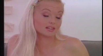 Blonde Woman, Silvia Saint Likes To Get Hammered In A Doggy- Style Position, Until She Cums.