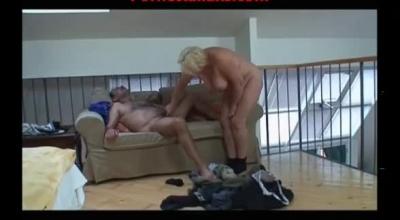 Busty Italian Teen Getting Rimjob From Busty Stepmom.