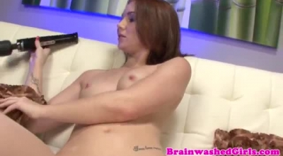 19yo Russian Forking On Her Bf.