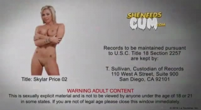 Skylar Blue Got Banged In A VIP Sex Combine And Enjoyed Every Second Of It.