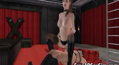 Roaming Brunette Anime Wife Takes It In Her Pussy And Ass.