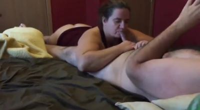 Double Dong Blowjob French Fisting.