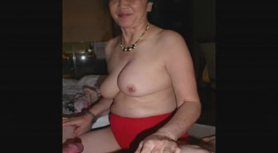 Busty Mature Masturbating Her Twat In Bathroom.