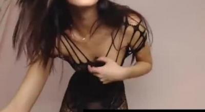 Heavy Hooter Performing Handjob After Wild Lesbian Sex.