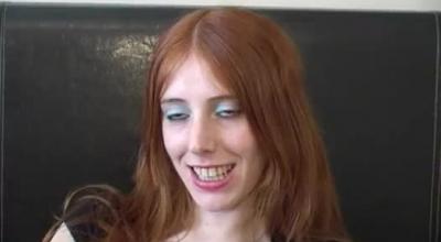 Bukkake Loving, Redhead With Glasses Fucked By The Jerk.