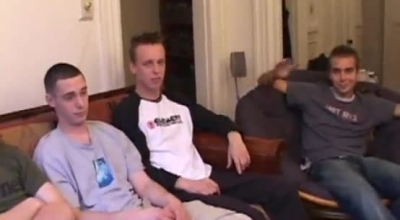 Eurocaiced Group Jacking And Sucking Dick During Interracial Gay Sex.