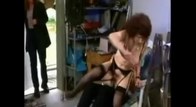 Mature Blonde Milf, Cecilia Scott Is Eagerly Touching Her Pole On The Sofa Until She Cums