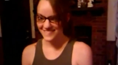 Fautzy Girlfriend With Glasses Takes It Up Her Ass.