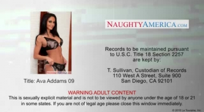 Naughty Milf, Ava Addams Is Getting Her Naughty Friend's Big, Black Cock From Behind.