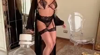 Daniella Foxx Is Making Love With Her Handsome Lover And Then Fucking Him Like A Whore.